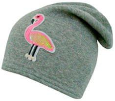 Yetty Długa ciepła czapka z flamingiem