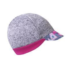 Unuo dievčenská čiapka so šiltom Kvetinky