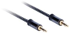 AQ Premium PA40007, kábel 3,5 mm Jack (M) - 3,5 mm Jack (M), dĺžka 0,75 m, xpa40007