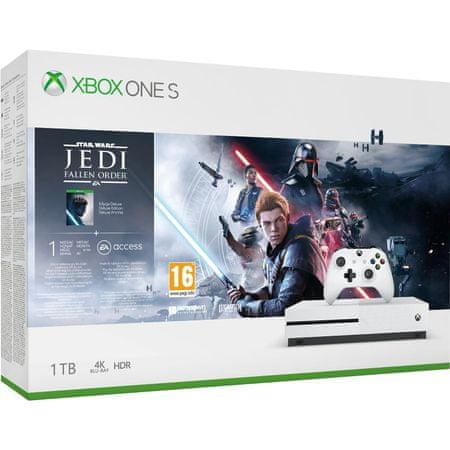Microsoft igraća konzola Xbox One S 1TB + StarWars Jedi: Fallen Order