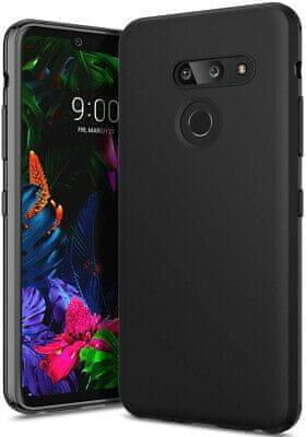 Ovitek za LG G8 ThinQ, mat črn, silikonski