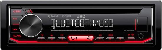 JVC KD-T702BT - zánovní