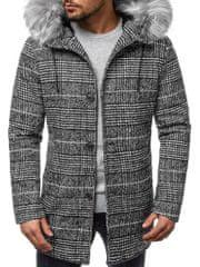 BUĎCHLAP Štýlový pánsky kabát O/88871Z