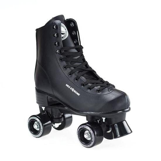 Nils Extreme quad kolieskové korčule NQ8400 S čierne veľ. 35