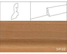 Effector Soklové lišty MDF - 40 x 20 mm, 54122 BUK PARENÝ