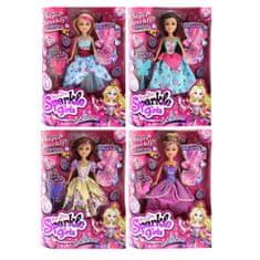 SPARKLE GIRLZ Princess lutka + dodaci za uređivanje