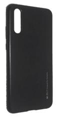 Goospery i-Jelly Metal tanek silikonski ovitek za Huawei P Smart Z / Y9 Prime 2019, črn