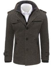 BUĎCHLAP Elegantný pánsky kabát šedý
