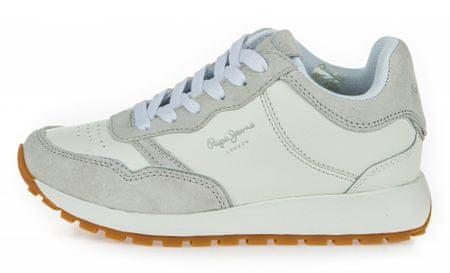 Pepe Jeans dámske tenisky Dean Premium PLS30886 36 biela