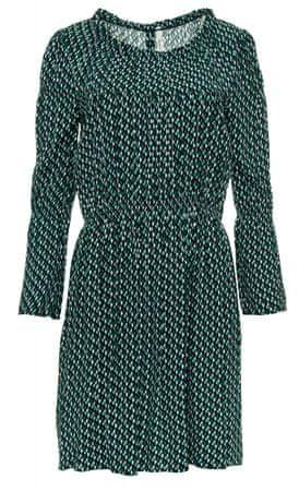 Pepe Jeans dámske šaty Theresa XS zelená
