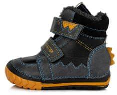 D-D-step chlapecké zimní boty 029-307B