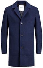 Jack&Jones Pánsky kabát JORBLINDERS WOOL COAT Navy Blaze r