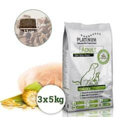 Platinum Natural Adult Chicken - Kuřecí 15 kg