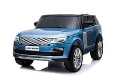 Beneo Elektrické autíčko Range Rover, Dvoumístné, LAK, Kožená sedadla, LCD Displej se vstupem USB