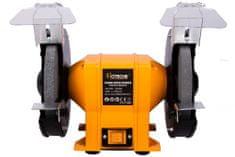 Hoteche Stolní dvoukotoučová bruska 200 mm, 350 W - HTP805435   Hoteche