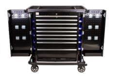 AHProfi Černý profesionální dílenský vozík na nářadí - TBR0109-XB | AHProfi