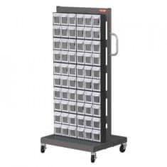 Shuter Mobilní organizér na šroubky do dílny, 120 boxů - MS-26000 | Shuter