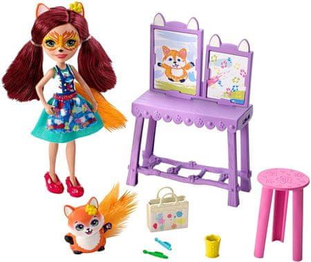 Mattel Enchantimals tematska embalaža Art studio