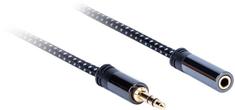 AQ Premium PA41030, przewód 3,5 mm Jack (M) - 3,5 mm Jack (F), długość 3 m, xpa41030