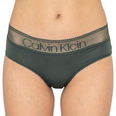 Calvin Klein Dámské kalhotky khaki (QD3700E-AMH)