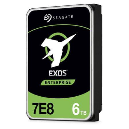 Seagate Exos 7E8 trdi disk, 6TB, 7200, 256MB, 512e/4kn SATA