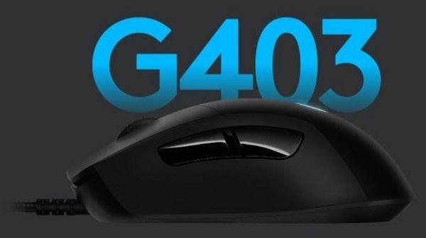 Igralna miška Logitech G403 Hero (910-005632) HERO 16K senzor