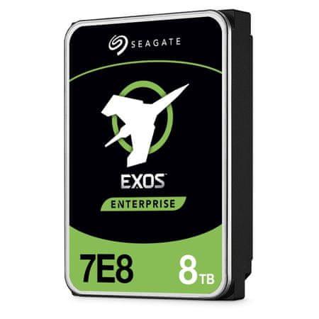 Seagate Exos 7E8 trdi disk, 8TB, 7200, 256MB, 512e/4kn SATA