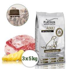 Platinum Natural Iberico & Greens - Kančí se zeleninou 15 kg