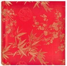 Innova Editions Fotoalbum Hedvábný květ červený