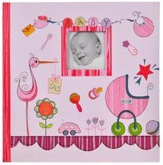 Tradag Dětské fotoalbum růžové