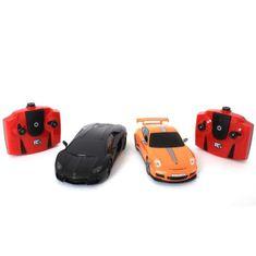 Cdiscount Sada 2 autíček na dálkové ovládání