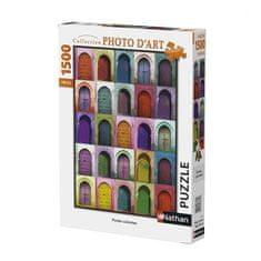 Nathan barevné dveře 1 500 dílků