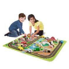 Melissa & Doug Luxusní hrací koberec s příslušenstvím