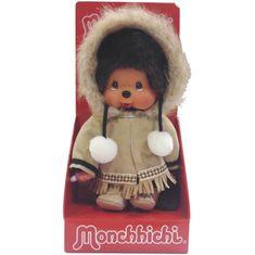Bandai mončičák Monchhichi Alaska - Eskymák