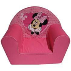 Disney dětské čalouněné křesílko s motivem Minnie