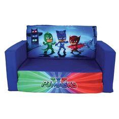 Fun House dětská rozkládací pohovka PJ Masks, 65 x 40 x 39