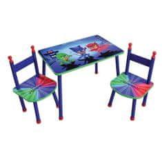 Fun House dětský stůl + 2 židle PJ Masks