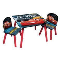 Cdiscount dětský stůl + 2 židle Auta 3