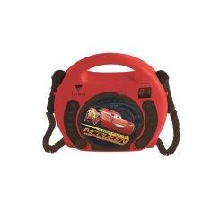Lexibook dětský CD přehrávač s mikrofony Cars