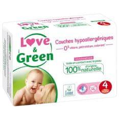 Love & Green dětské hypoalergení plenky - 46 kusů