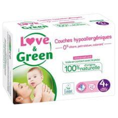 Love & Green dětské hypoalergení plenky - 42 kusů