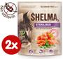 2 - SHELMA Granule Freshmeat Sterilised losos 2*750g