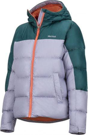 Marmot Wm's Guides Down Hoody ženska bunda Lavender Aura/Deep Teal, S