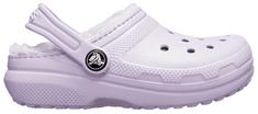 Crocs Pantofle Classic Lined Clog Lavender/Lavender 203591-50P