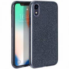 Bling ovitek za Huawei P Smart Z / Huawei Y9 Prime 2019, silikonski, črn z bleščicami