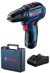 BOSCH Professional Akumulatorski bušilica-odvijač GSR 12V-30, 2 akumulatora (0.601.9G9.000)