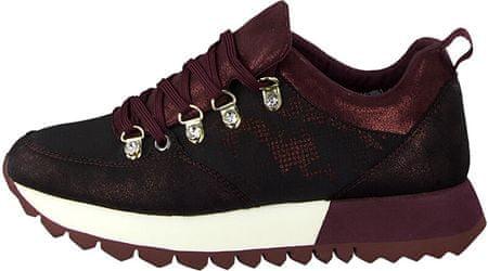 s.Oliver Női cipők Bordeaux Comb 5 5 23622 33 582 (méret 38)