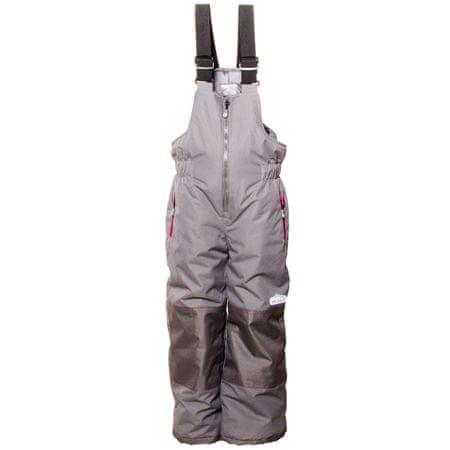 PIDILIDI dívčí zimní lyžařské kalhoty 98 šedá