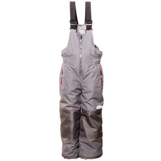 PIDILIDI dievčenské zimné lyžiarske nohavice 98 sivá