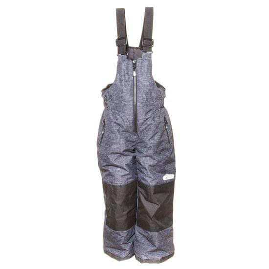 PIDILIDI chlapčenské zimné lyžiarske nohavice 98 sivá